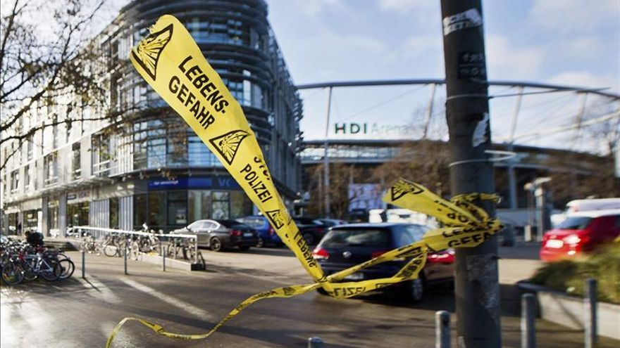 La fiscalía general alemana asume el caso del partido amistoso cancelado en Hannover