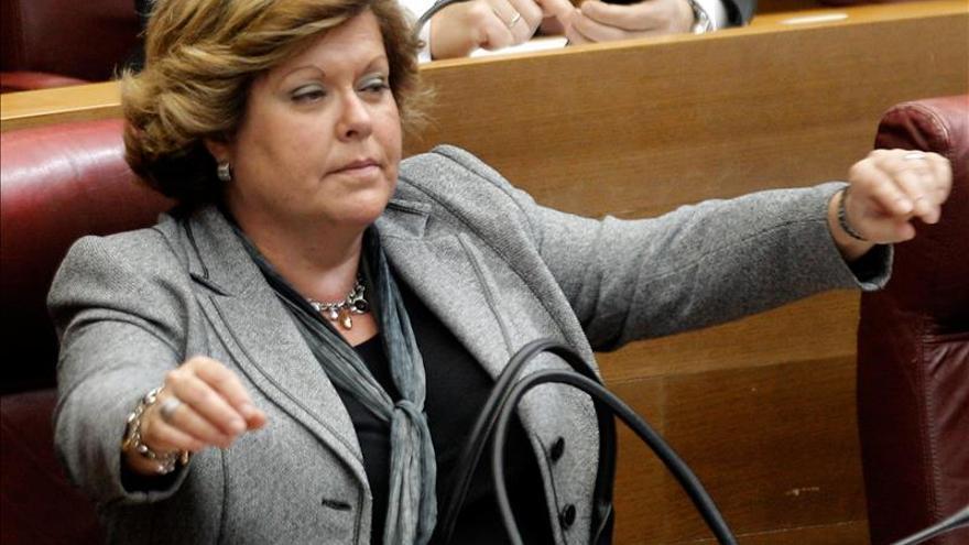 Milagrosa Martínez (PP) presenta su renuncia como diputada en Les Corts