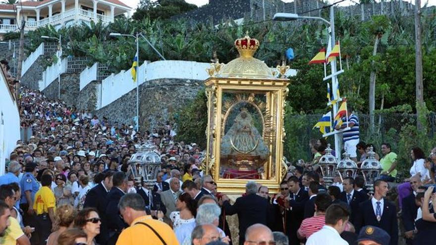 Imagen de la Bajada del Trono de 2010.