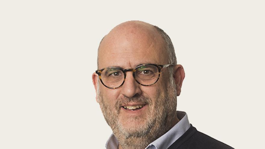 El candidato de JxCat y exdirector de RAC-1, Eduard Pujol