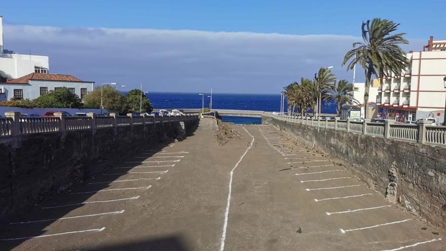 La capital habilita 109  aparcamientos en el barranco de Las Nieves
