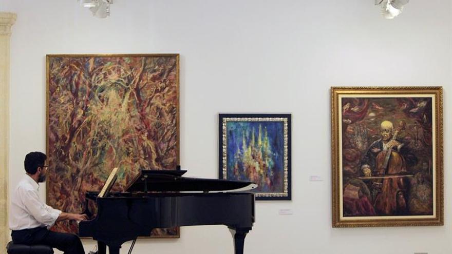 """Enrique Ochoa y su """"música pintada"""" vuelven a El Puerto de Santa María"""