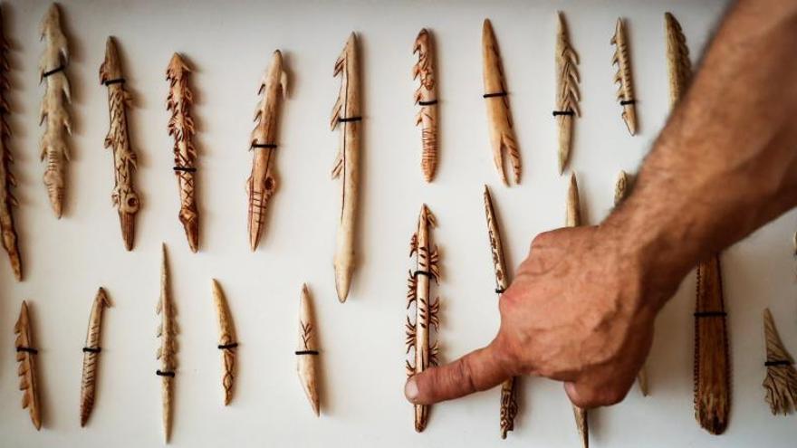 Redescubrir la prehistoria a golpe de piedra