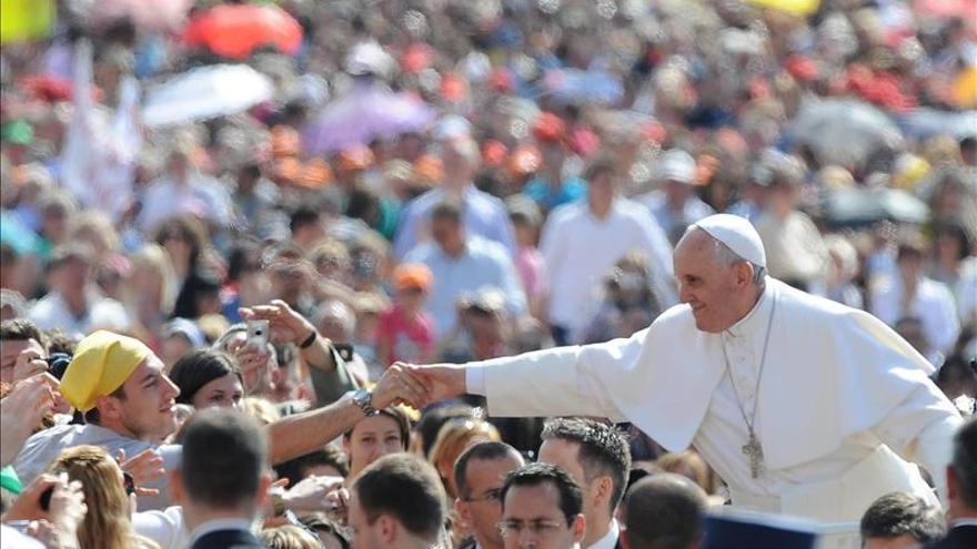Los católicos en el mundo son 1.214 millones, el 17,5 % de población
