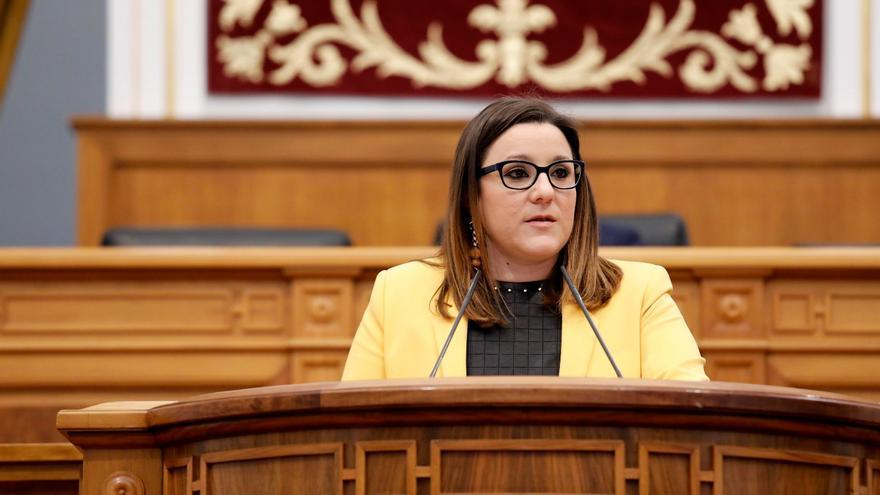 María Díaz FOTO: Cortes Castilla-La Mancha
