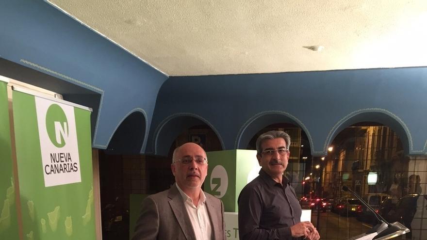 Rodríguez (NC) destaca el aumento de diputados del nacionalismo canario de izquierdas