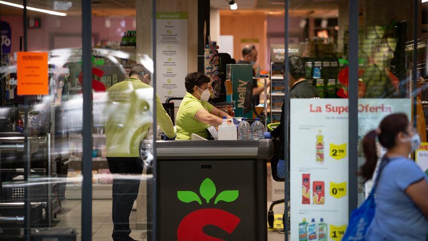 El confinamiento aumentó un 1,4% los compradores 'online' y redujo un 8,3% los consumidores presenciales