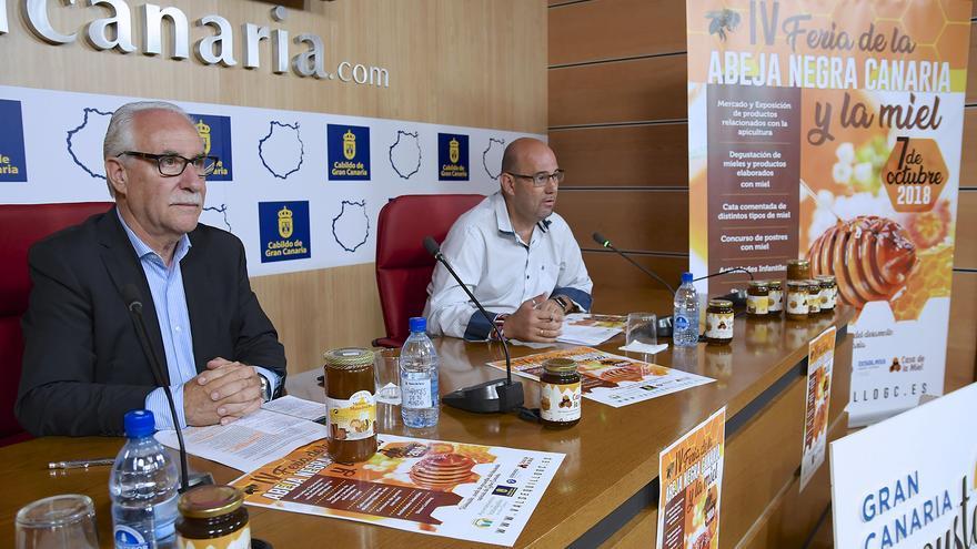 Presentación de la Feria de la abeja negra y la miel de Valsequillo