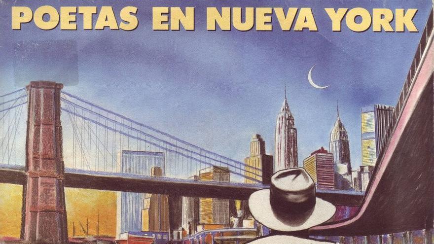 Portada del disco Poetas en Nueva York