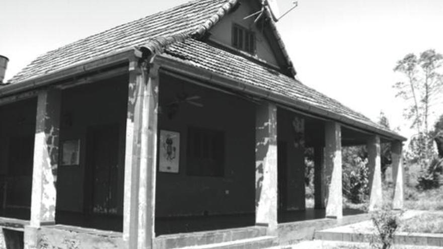 Casa de Mengele en Hohenau, muy cerca de la frontera paraguayo-argentina