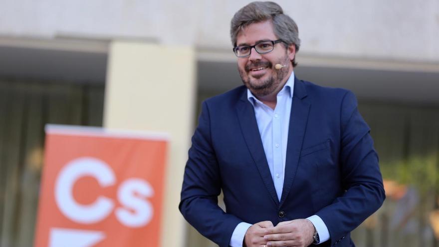 """Hervías justifica la gestora de Cs en Canarias por el """"transfuguismo"""" en Tenerife, pero cree que """"siguen fuertes"""""""