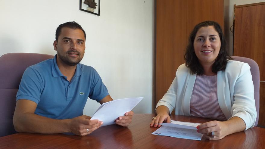 Omar Fumero y Goretti Pérez.