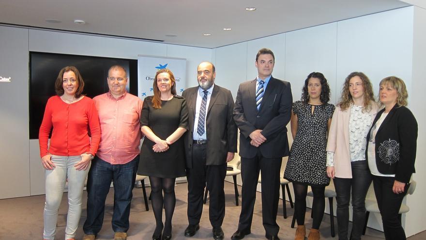 Seis entidades sociales navarras reciben 110.180 euros de La Caixa para proyectos de discapacidad y dependencia