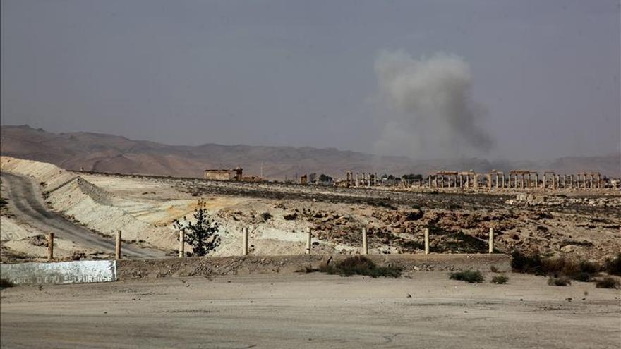 Al menos 462 muertos en la ofensiva del EI en Palmira y zonas del este de Homs