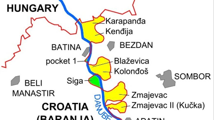 Liberland, en verde (Siga)
