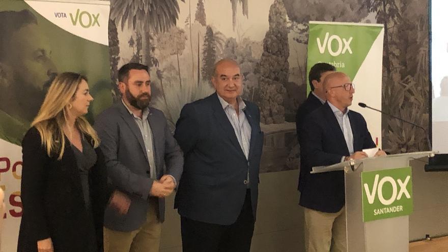 """Vox considera """"todo un éxito"""" su resultado y se centra en """"darlo todo"""" en las autonómicas"""