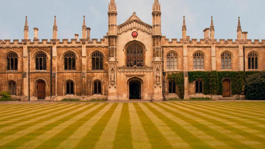 El Corpus Christi College de la Univesidad de Cambridge.