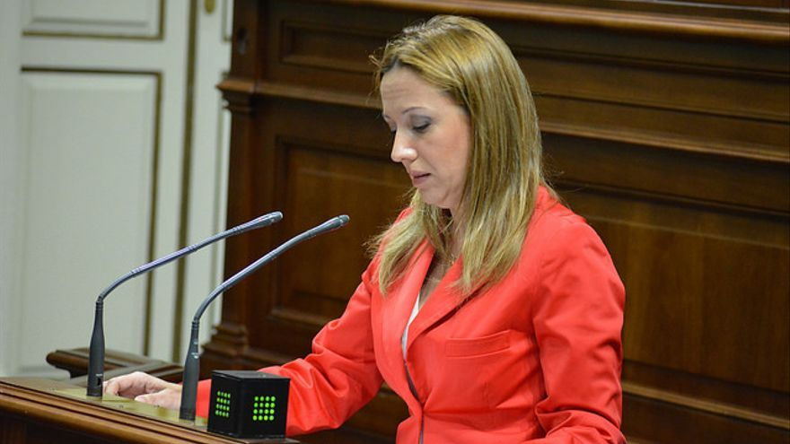 La consejera de Hacienda del Gobierno de Canarias Rosa Dávila