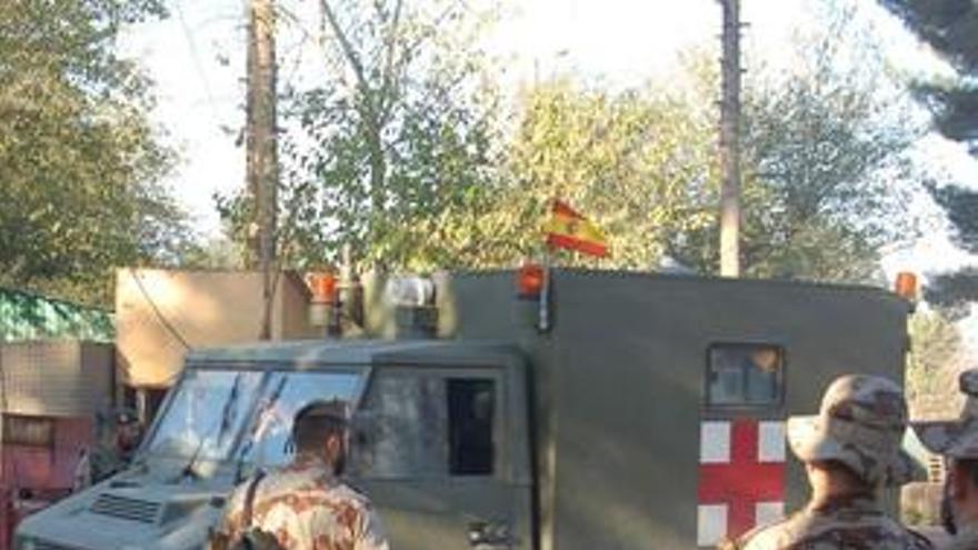 Dos militares españoles heridos leves de bala en un ataque talibán