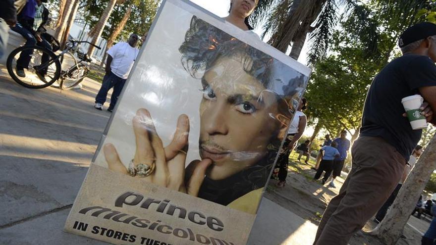 Los fármacos encontrados en la casa de Prince no estaban recetados a su nombre