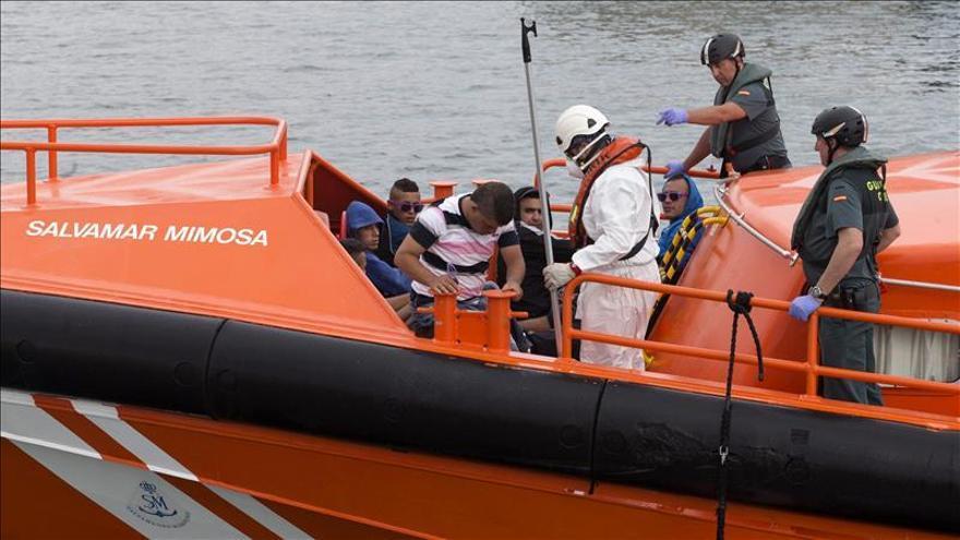 Veintiún inmigrantes interceptados al sur de Cabo de Palos (Murcia)