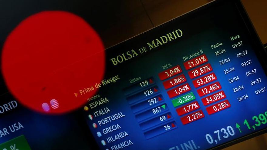 La prima de riesgo española abre sin cambios, en 136 puntos básicos