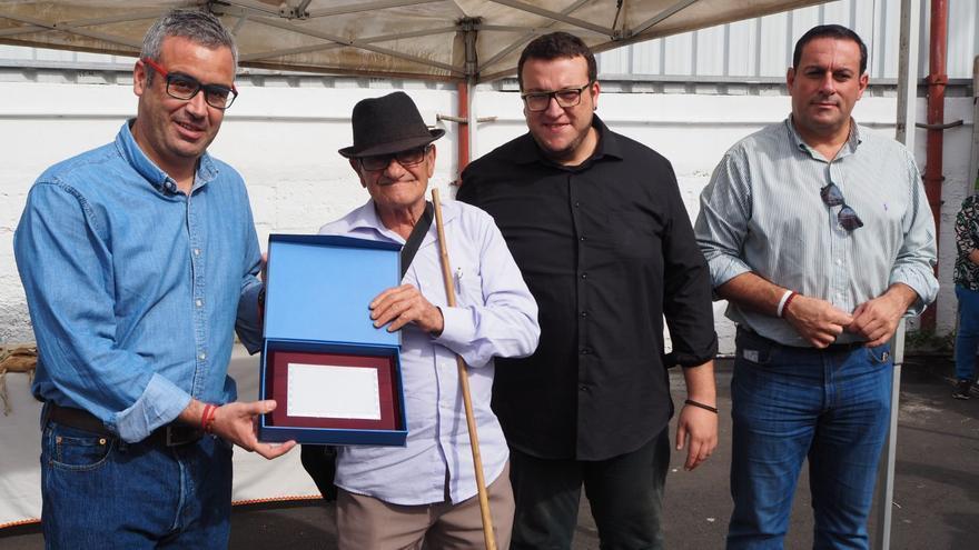 Acto de reconocimiento a José Ayut Gutiérrez. Foto: JOSÉ AYUT