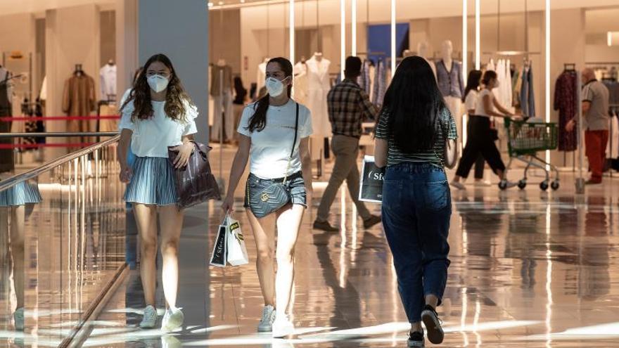 Imagen del centro comercial Lagoh en Sevilla.
