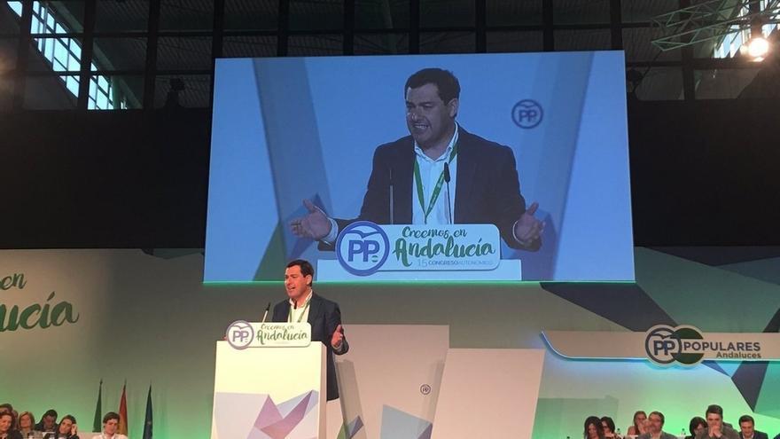 """El presidente del PP-A promete """"gobernar"""" y pide confianza para """"pilotar la gran nave de Andalucía"""""""