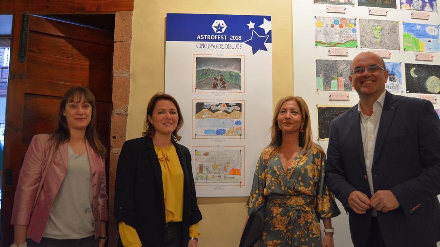 Las obras del concurso de dibujo infantil Astrofest  se exponen en la Casa Salazar.