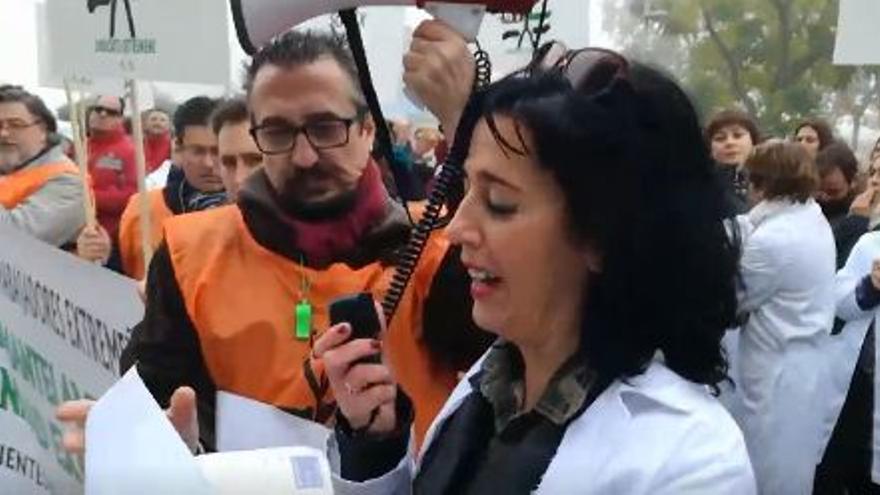 SGTEX Sanidad Extremadura manifestacionn SES