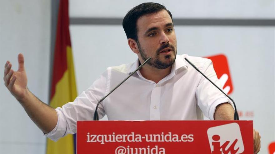 """Garzón dice que el PP ha sido """"más listo"""" que el PSOE para configurar la Mesa"""