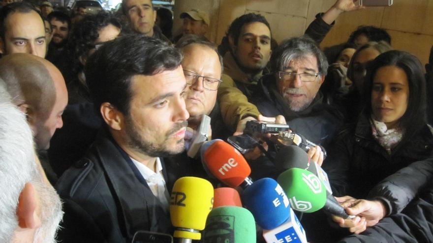 Garzón apela al espíritu de Gamonal para reivindicar los derechos sociales y la dignidad frente a la oligarquía