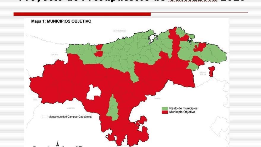 Las deducciones en el IRPF para frenar la despoblación beneficiarán en 2020 a 56 municipios con 48.700 habitantes