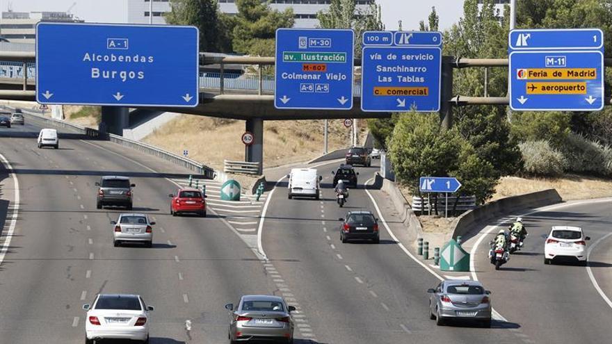 El sábado comienza con tráfico intenso hacia Levante, pero sin atascos