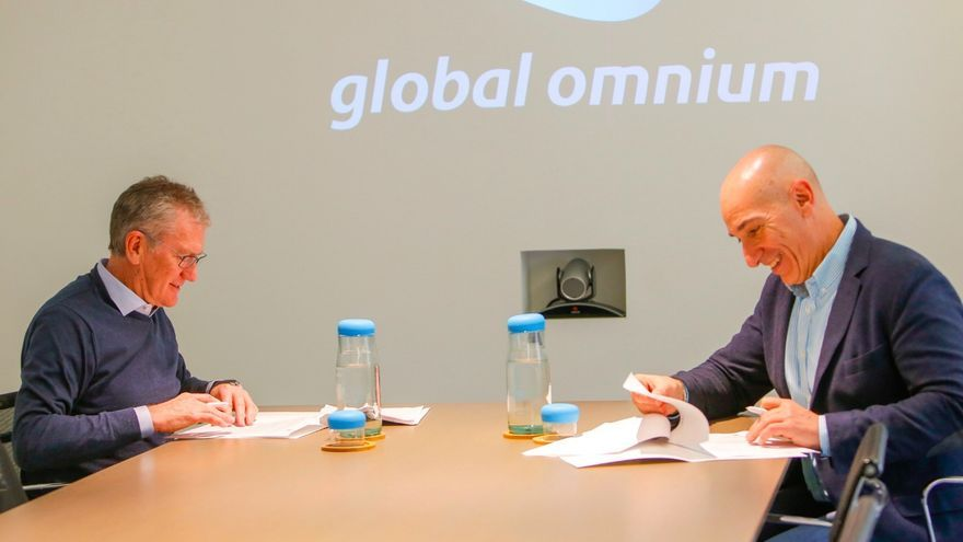 Firma del acuerdo entre Global Omnium y ONG Global Nature