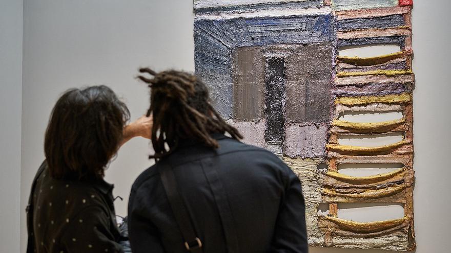 Obra de la muestra 'Odio sobre lienzo', del pintor Santiago Palenzuela