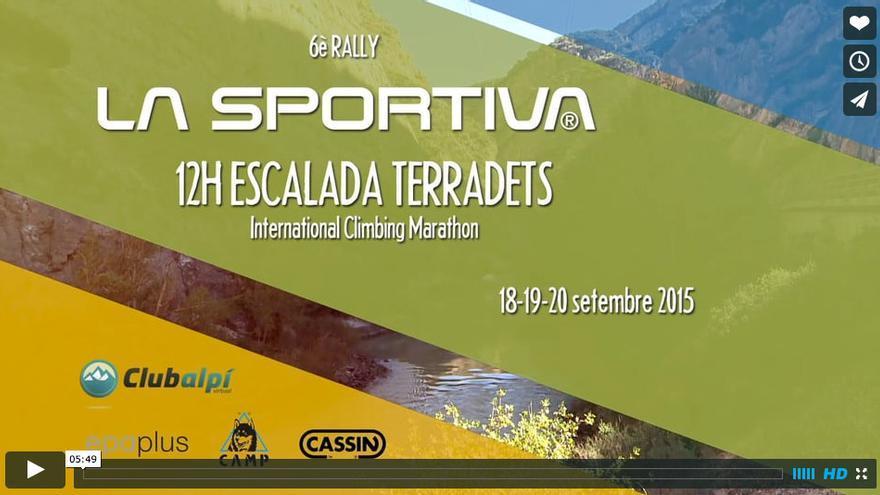 VI Rally La Sportiva 12h Escalada de Terradets