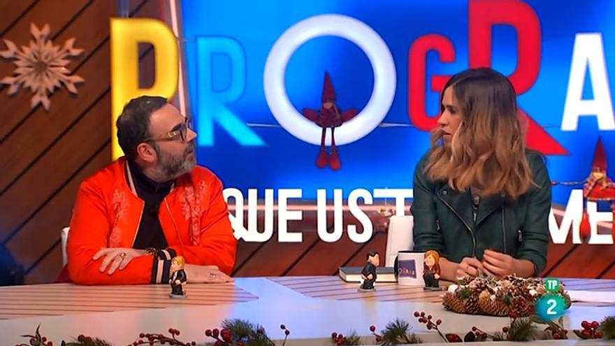 Bob Pop y María Gómez en Ese programa del que usted me habla