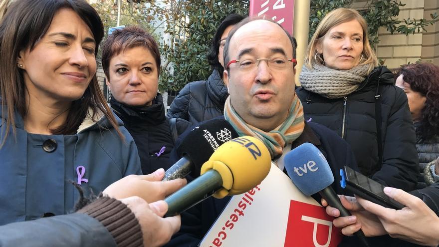 """Iceta cree que la declaración de Forcadell es """"fruto de cinco años de falta de diálogo"""""""