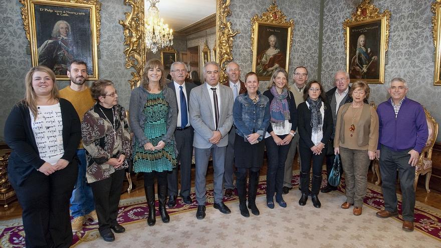 Ana Ollo agradece la labor de los centros regionales de otras comunidades en Navarra