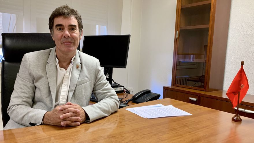 Eduardo Santos, consejero del Gobierno de Navarra