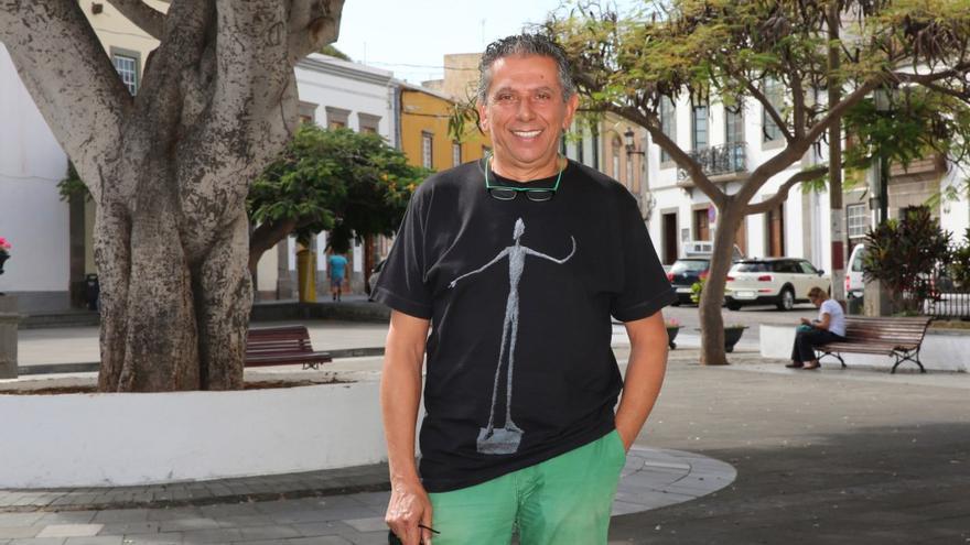 El catedrádito de matemáticas y docente Eloy Morales