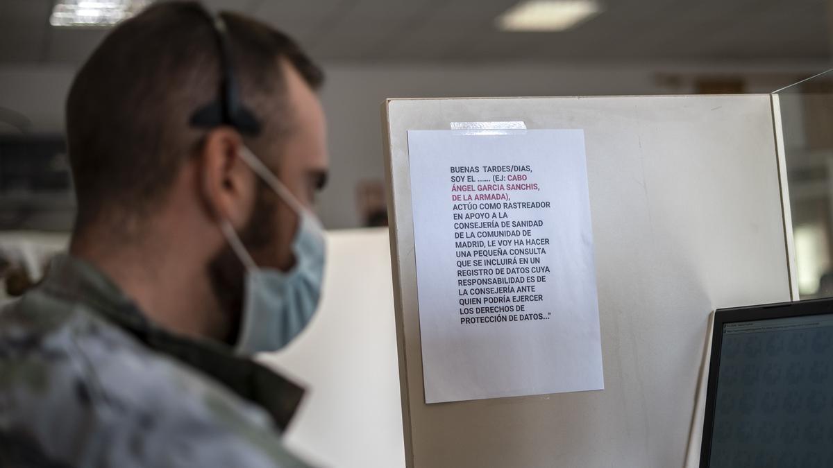 Rastreadores del Ejército prestaron apoyo en Galicia
