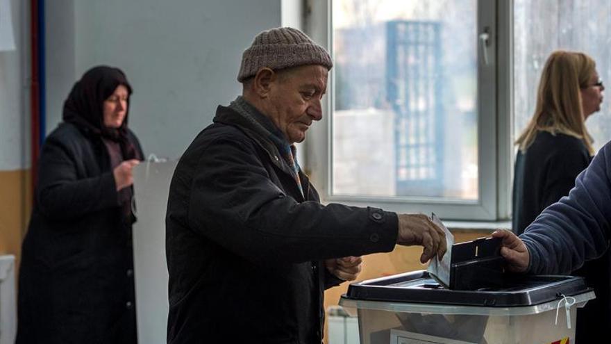 Conservadores mantienen victoria tras repetirse voto en un distrito macedonio