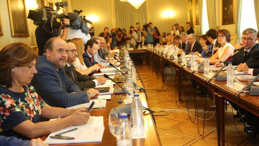 Martínez Guijarro, hoy, en el Comité de Seguimiento de la Conferencia de Presidentes