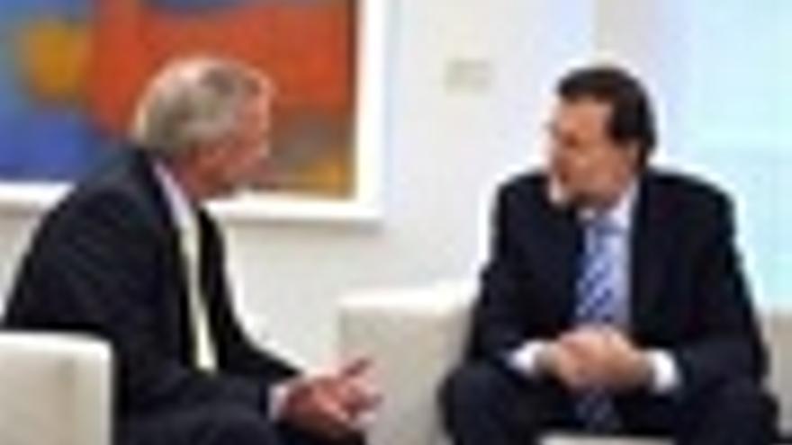 Mariano Rajoy Y El Presidente Del BEI