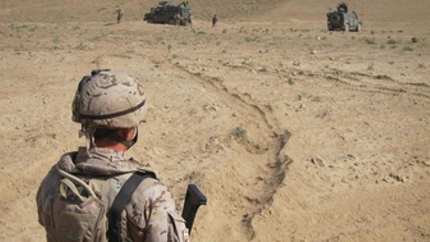 Tropas Españolas En Afganistán. 29 Agosto 2012