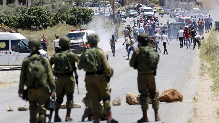 Detenida una menor palestina con cuchillo en puesto militar de Ramala