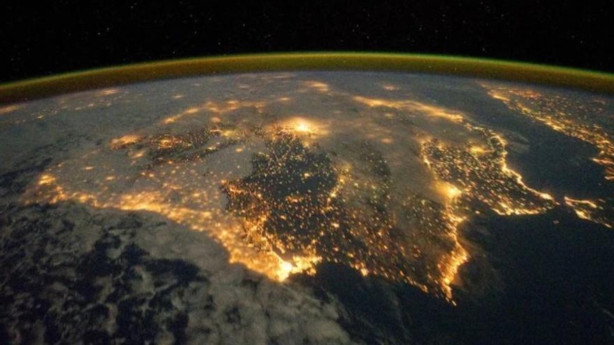 Una imagen de contaminación lumínica. Foto: NASA Goddard Space Flight Center (Flickr)